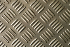 Background of metal diamond plate Royalty Free Stock Photos