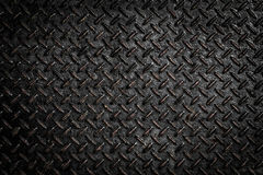 Background of metal diamond plate Royalty Free Stock Image