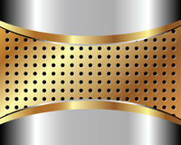 Background with metal grid 3 Royalty Free Stock Image