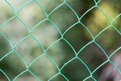 Background of the metal mesh.  Royalty Free Stock Photo