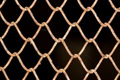 Background of the metal mesh.  Stock Photography