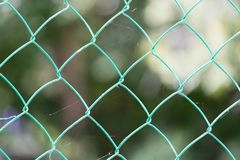 Background of the metal mesh. Photo of an abstract texture Royalty Free Stock Image