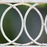 Background of the metal mesh fence.  Stock Photos