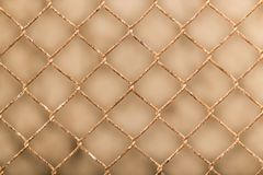 Background of the metal mesh fence. Photo of an abstract texture Stock Photo