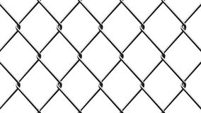 Background of metal mesh isolated on white background. Metal mesh fence. background of metal mesh isolated on white background Stock Photography