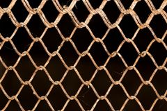 Background of the metal mesh. Photo of abstract background Stock Photo