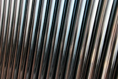 Background of metal pipes Royalty Free Stock Image