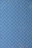 Background of metal plate blue colour Royalty Free Stock Photos