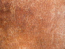 Background of a metal plate corroded Royalty Free Stock Image