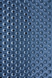 Background of metal plate with holes Stock Photos