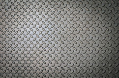 Background of metal  plate in silver color. Royalty Free Stock Image