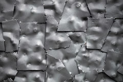 Background of the metal plates Royalty Free Stock Photography