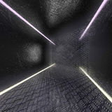 Background of metal with repetitive patten. 3D. Rendering Stock Photos