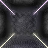 Background of metal with repetitive patten. 3D. Rendering Stock Photography