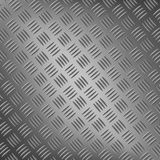 Background of metal with repetitive patten Royalty Free Stock Image