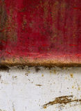 Background metal rusted red white Royalty Free Stock Images