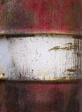 Background metal rusted red white Royalty Free Stock Photo