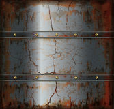 Background metal rusty texture Royalty Free Stock Photography