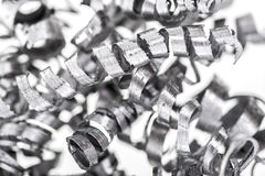 Background of metal shavings Stock Photos