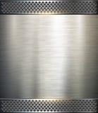 Background metallic. Technology vector illustration Stock Image