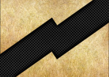 Background of metallic bronze and black mesh inserts Royalty Free Stock Photos