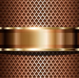 Background metallic Stock Photography