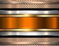 Background metallic, shiny metal texture Stock Images