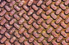 Background with metallic textures stock photo