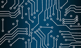Background microchip. Abstract blue background microchip for the website Stock Photo