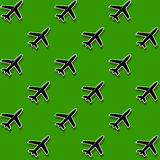 Background military airport. An abstract background the military airport from the satellite vector illustration