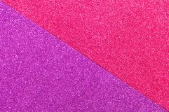 Background mixed glitter texture purple and pink, abstract background isolated stock photo
