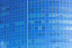 Background of modern building windows Stock Images