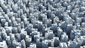 Background of Modern Skyscrapers Royalty Free Stock Image
