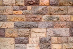 Background of modern stone wall Royalty Free Stock Photos