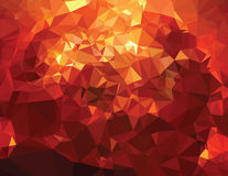 Background modern texture triangle geometry birth of a star Stock Image
