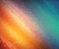 Background modern texture triangle geometry galaxy colorful harmony Royalty Free Stock Photo