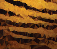 Background modern texture triangle geometry tiger stripes dangerous Stock Photo