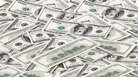 Background with money american dollars Stock Photo