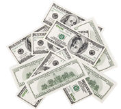 Background with money american dollars Stock Photography