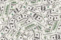 Background with money american dollars Stock Images