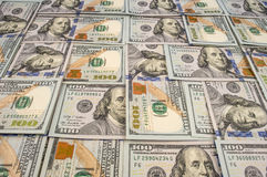 Background with money american Stock Photo