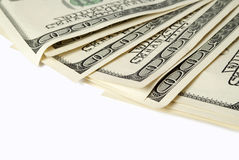 Background with money american hundred dollar bills Royalty Free Stock Photos