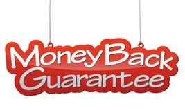 Background money back guarantee Royalty Free Stock Images