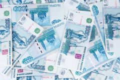 Background from money banknotes Stock Photos