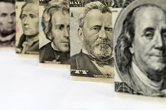 Money_U.S. President. Background of money for business Stock Photo