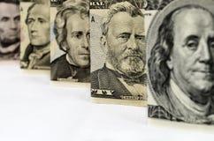 Money_U.S. President Stock Photo