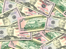 Background of money pile 50 USA dollars. Abstract background of money pile 50 USA dollars bills for your design. Studio photography stock photo