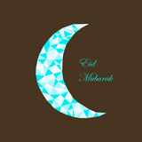 Background with moon Royalty Free Stock Image