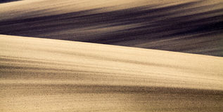 Background of Moravian fields Royalty Free Stock Photo