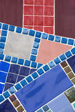 Background of mosaic color Stock Images